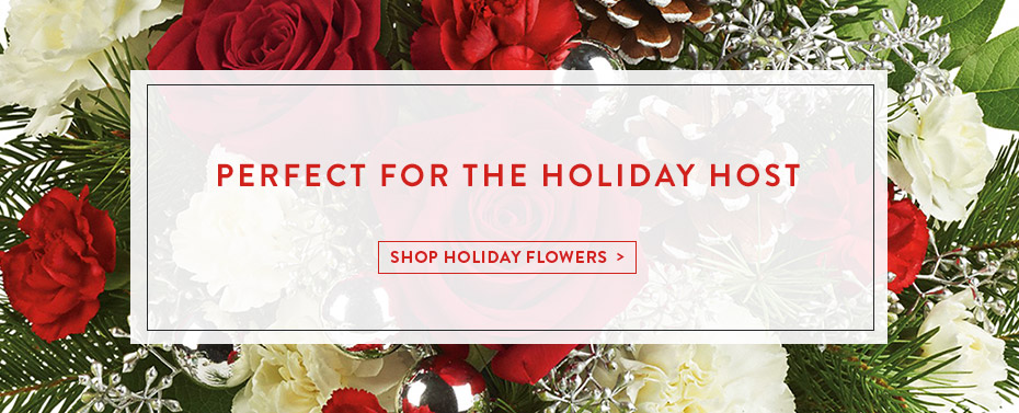 Perfect for the Holiday Host - Shop Holiday Flowers