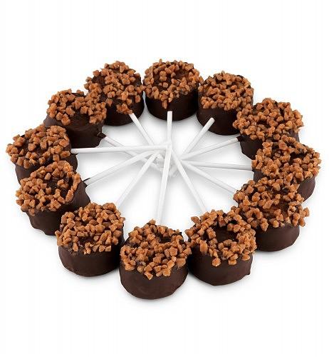 One Dozen Cheesecake Pops: Cakes and Desserts - Tasty, choco