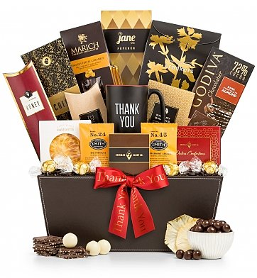 Gourmet Gift Baskets: A Thousand Holiday Thanks