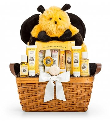 Mommy And Baby Cute As Can Bee Baby Gift Baskets