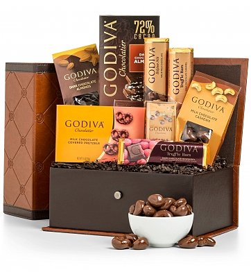 Chocolate & Sweet Baskets: The Godiva Chocolatier Collection