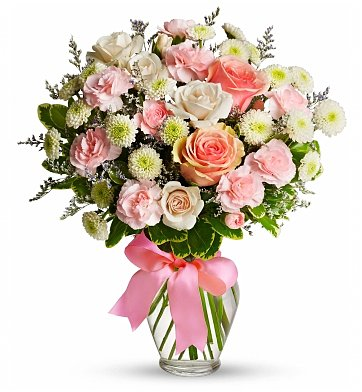 Flower Bouquets Cotton Candy Birthday Bouquet