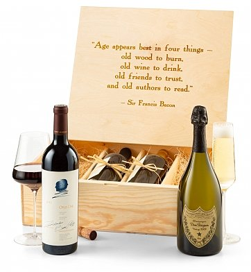 Gift Services Warehouse: Sommelier's Four Bottle Fine Wine Selection