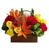 Tropical Flowers: Tropical Getaway Bouquet