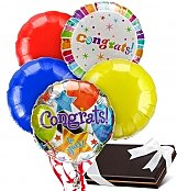 Balloons & Chocolate: Congratulations Balloons & Chocolates-5 Mylar