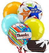 Balloons & Chocolate: Thank You Balloons & Chocolates-5 Mylar