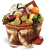 Food & Fruit Baskets: Delightful Combinations