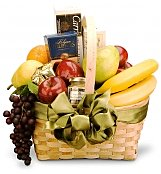 Food & Fruit Baskets: Sophisticated Tastes