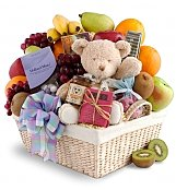 Fruit Gift Baskets: New Arrival Fruit & Gourmet Basket