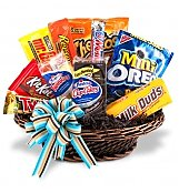 Food & Fruit Baskets: Junk Food Basket