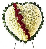 Flower Bouquets: Broken Heart Sympathy Tribute