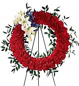 Flower Bouquets: To Honor One's Country Wreath