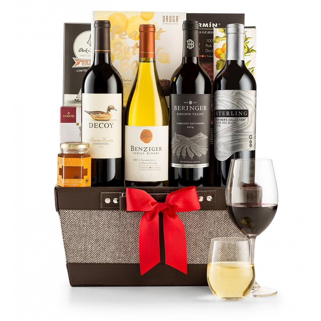 Wine Baskets: California Wine Quartet