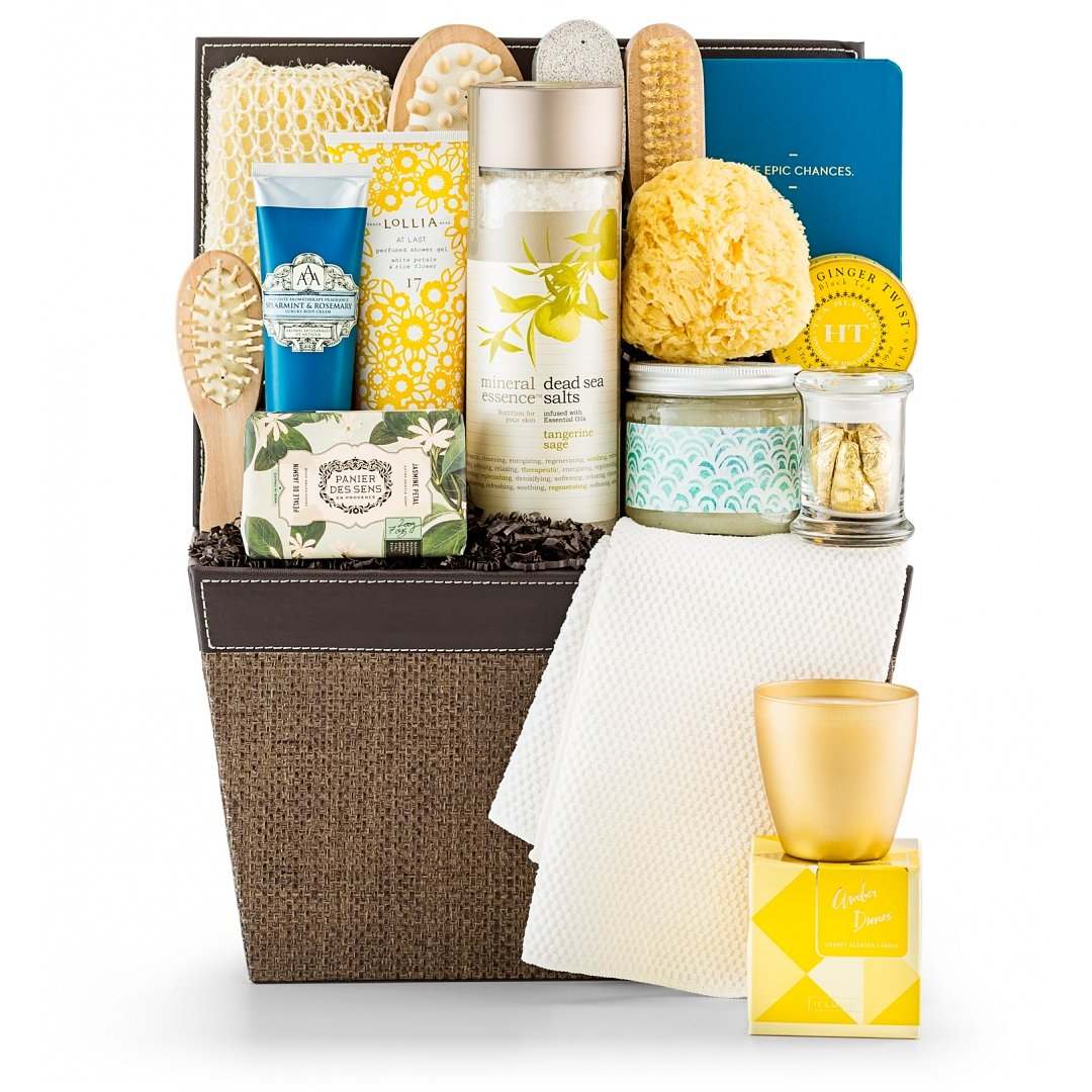 Spa Gift Baskets: Opulent Spa Basket
