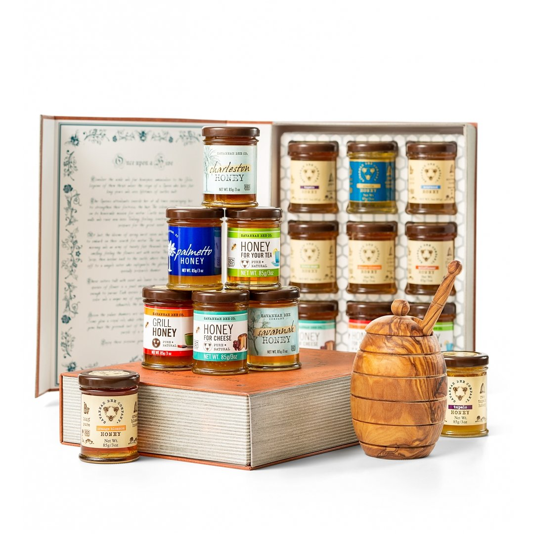 Fine Jams, Spreads, Honeys Gifts: Savannah Bee Book of Honey