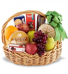 Fruit Gift Baskets: Deluxe Fruit Basket