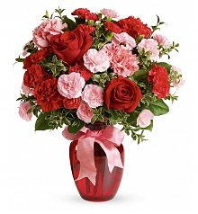 Roses: Dance with Me Bouquet with Red Roses