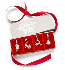 Gift Services Warehouse: Saint Nicholas Pewter Ornament Set