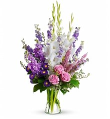 Funeral Wreaths: Joyful Memory Bouquet