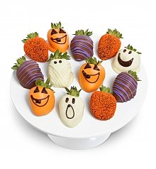 -Dropship: Seasonal: Chocolate Dipped Halloween Strawberries