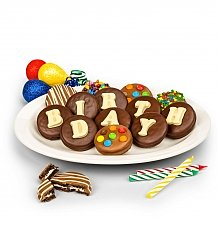 Cakes and Desserts: Birthday Chocolate Covered Oreo