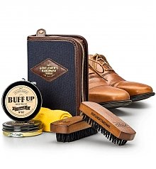 Spa Gift Baskets: Gentlemen's Hardware Shoe Polish Gift