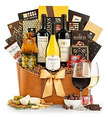 Wine Baskets: The Premier Selection
