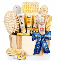 Spa Gift Baskets: Bath and Body Birthday Invigoration