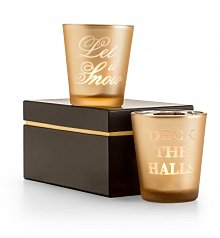 Home Decor: Lenox Christmas Carol Votive Set