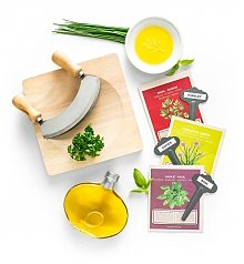 Food Drink Kits Gifts: Home Chef's Fresh Herb Crate