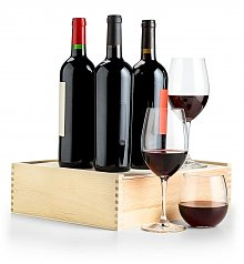 Wine Gift Crates: Cellar Choice Red Wine Trio