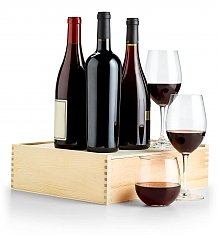 Wine Gift Crates: Sommelier's Red Wine Selection