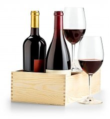 Wine Gift Crates: Red Wine Lover's Duo Crate