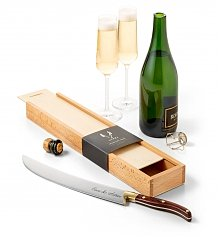 Personalized Wine Gifts: Engraved Champagne Saber
