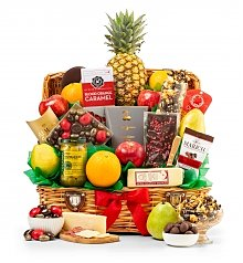 Fruit Baskets: Taste of Extravagance Gourmet Fruit Basket