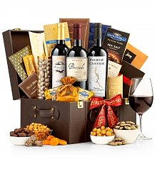 Wine Baskets: Wine Merchant's Gourmet Chest