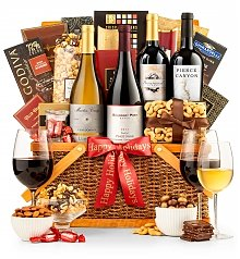Wine Baskets: Christmas in Monterey