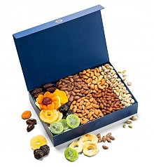 Gourmet Gift Baskets: Premium Nuts & Dried Fruit Abundance