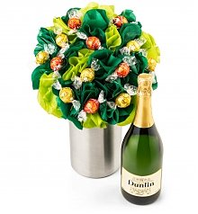 Chocolate & Sweet Baskets: BonBon Blooms™ Sweet and Sparkling Bouquet