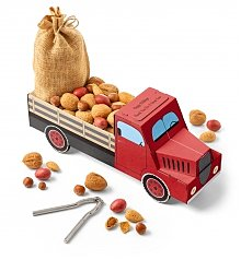 Gourmet Gift Baskets: Special Delivery Nutcracker and Nuts