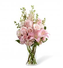 Funeral Flowers: Wishes & Blessings Bouquet