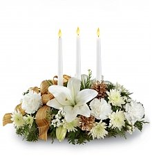 Flower Bouquets: Season's Glow Centerpiece