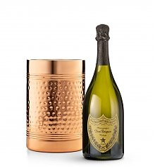 Luxury Wine Baskets: Dom Perignon with Double Walled Wine Chiller