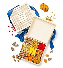 Personalized Keepsake Gifts: Personalized Plaid Snack Box