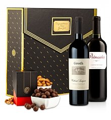 Wine Gift Boxes: Black Tie Affair Wine Tasting Gift