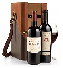 Wine Totes & Carriers: Wine Duet & Travel Case