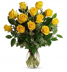 Roses: Say Yellow Rose Bouquet