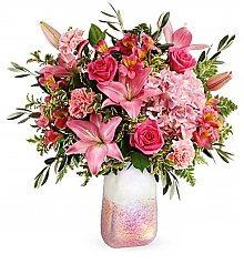 Flower Bouquets: Blushing Gemstone Bouquet