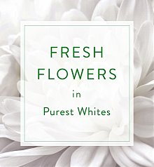 Flower Bouquets: Designer's Choice Seasonal Bouquet: White