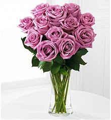 Flower Bouquets: Lavender Rose Bouquet